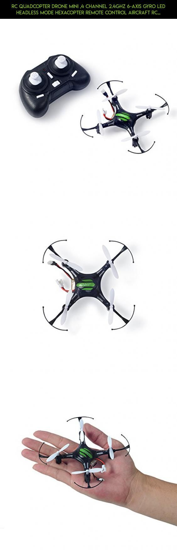 RC Quadcopter Drone Mini ,4 Channel 2.4GHz 6-Axis Gyro LED Headless Mode Hexacopter Remote Control Aircraft RC Helicopters Black #nerf #technology #fpv #kit #air #tech #parts #plans #drone #camera #products #hogs #shopping #racing #gadgets