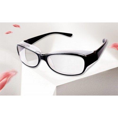 高品質防虫花粉メガネシンプル花粉対策防風防塵電磁波防護パソコン保護眼鏡