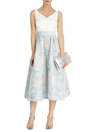 Image result for jacquard wedding guest dress coast