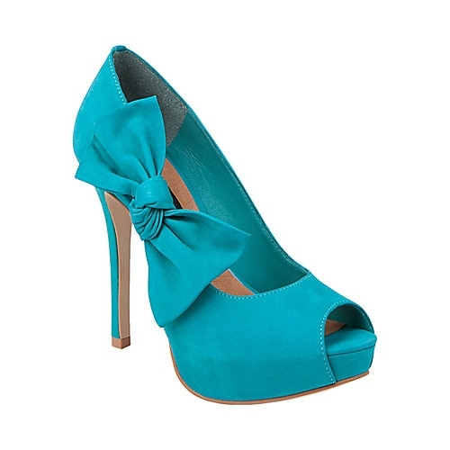 Too cute!: Shoes, Fashion, Peep Toe, Style, Color, Steve Madden, Bows, Heels