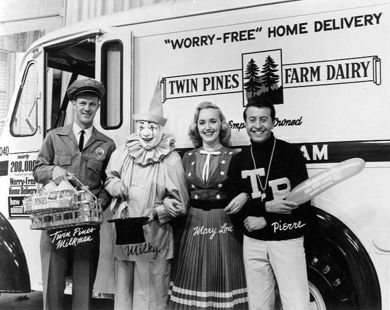 Twin Pines and Milky the milkman! Didn't  know if this should go in Michigan  or growing  up boomer!