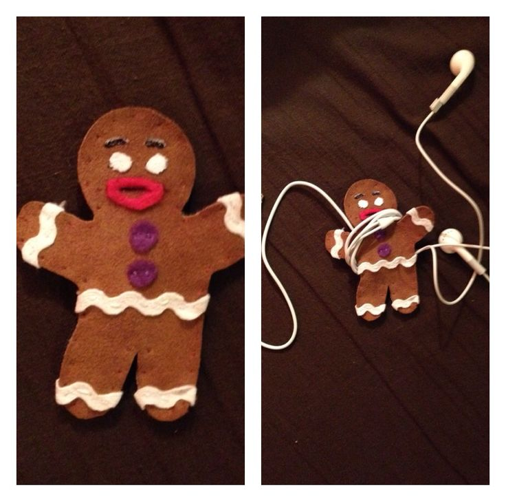 #Gingy #headphone wrap #iPhone