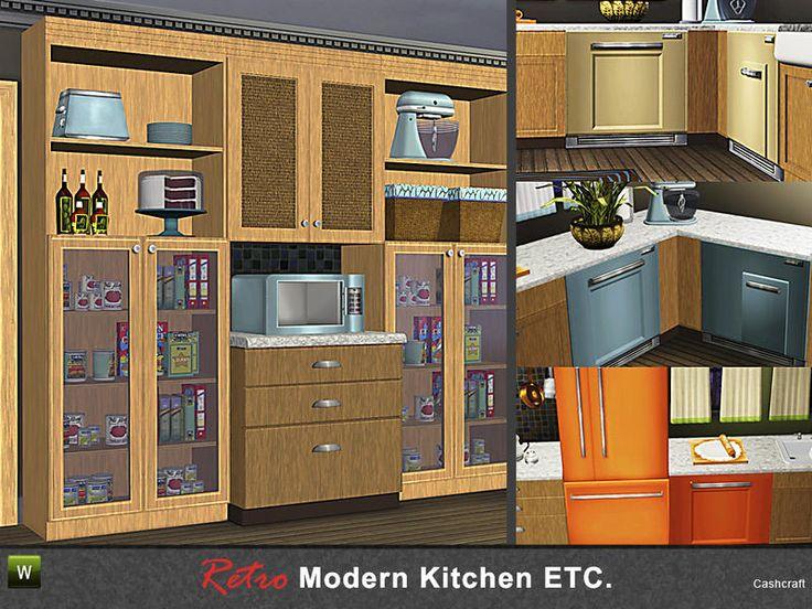 Cashcraftu0027s Retro Modern Kitchen Etc.