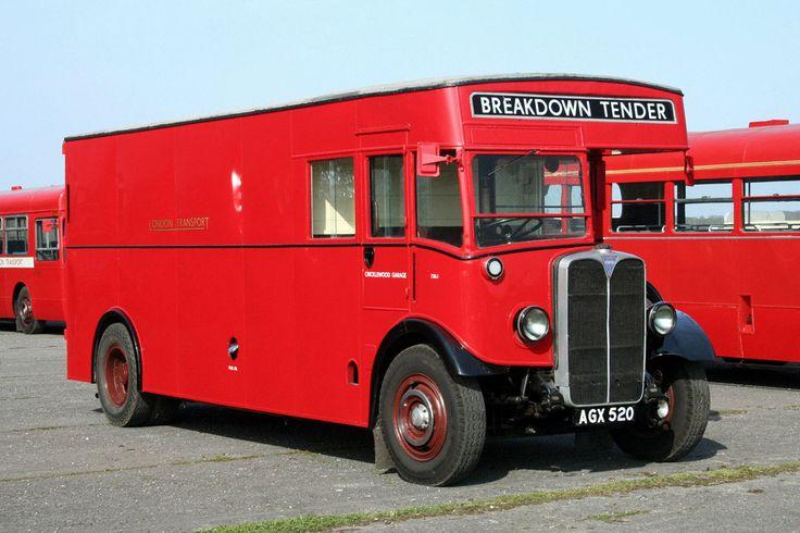 AEC - Regal / Regent Van (Special vehicles) - history, photos, PDF broshures