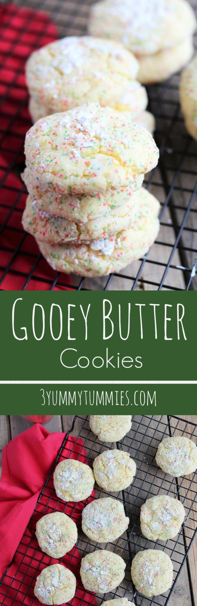 Delicious gooey goodness made with yellow cake mix!