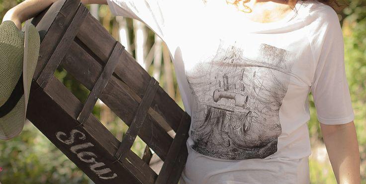 Camiseta en tencel, fibra natural producida de la madera 50,00 €