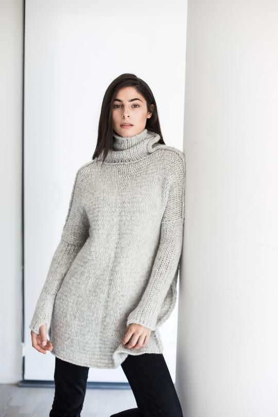 c3351a1d6 Oversized chunky knit sweater in 2019