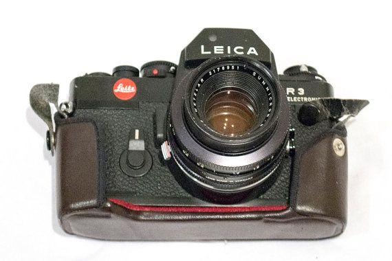 Leica R3 35mm SLR Camera  Summicron-R 50mm f2  por CameraCollection
