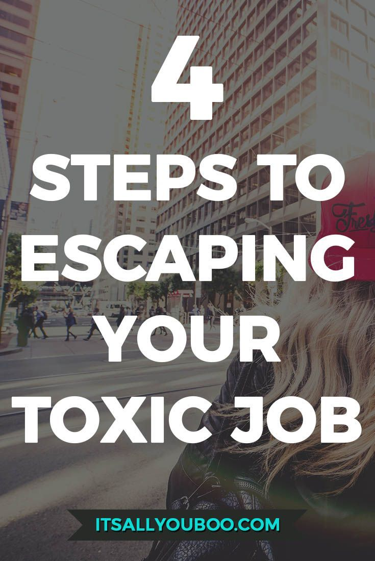 how to leave a job you hate