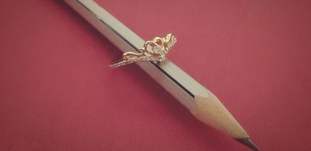 Diamond & Pencil