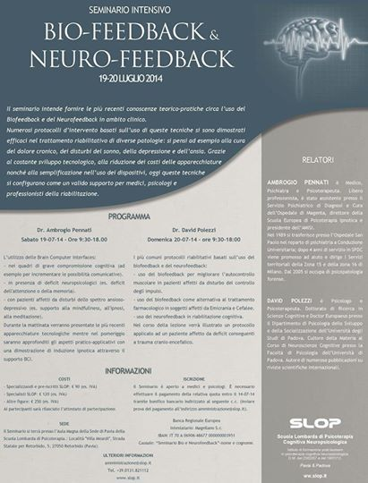 Bio-Feedback and Neuro-FeedBack