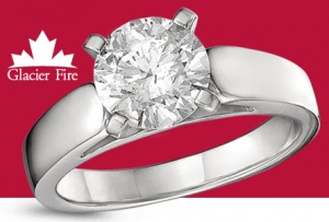 Win a Canadian Diamond Solitaire from Charm Diamond Centres