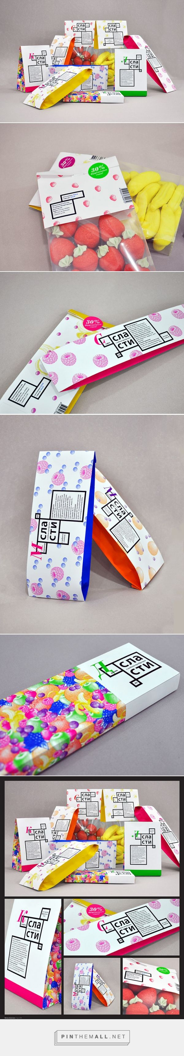 Packaging for sweets by Mitina Anastasia (student work) via Package Inspiration curated by Packaging Diva PD. Who wants some candy now?