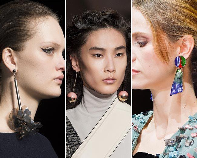 Fall/ Winter 2015-2016 Jewelry Trends: Drop Earrings