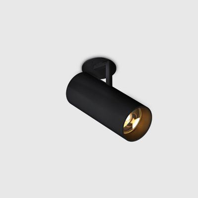 Holon 80 directional recessed mounted, LED, black, gear excl. | Kreon — purity in light