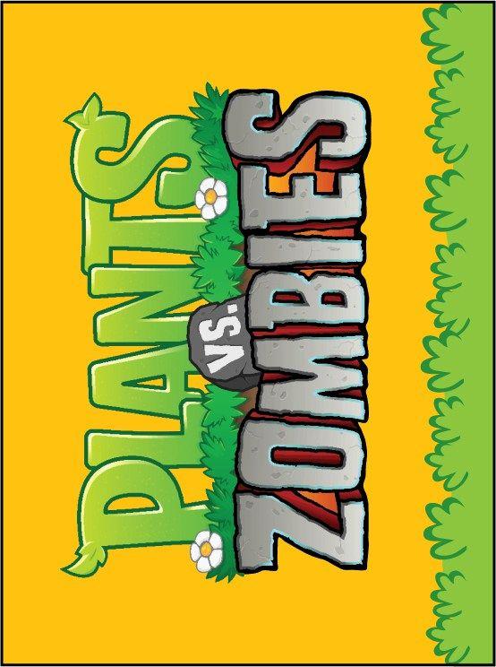 Decoración de Plantas Vs Zoombies cumpleaños