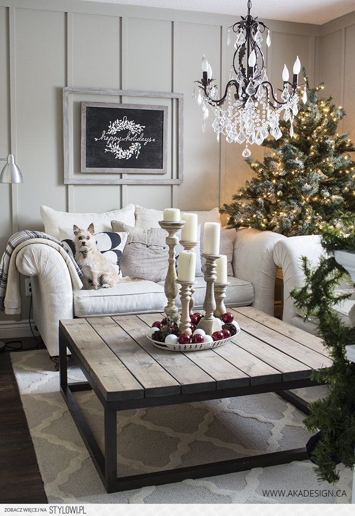 Country Living Christmas Home Tour na Stylowi.pl