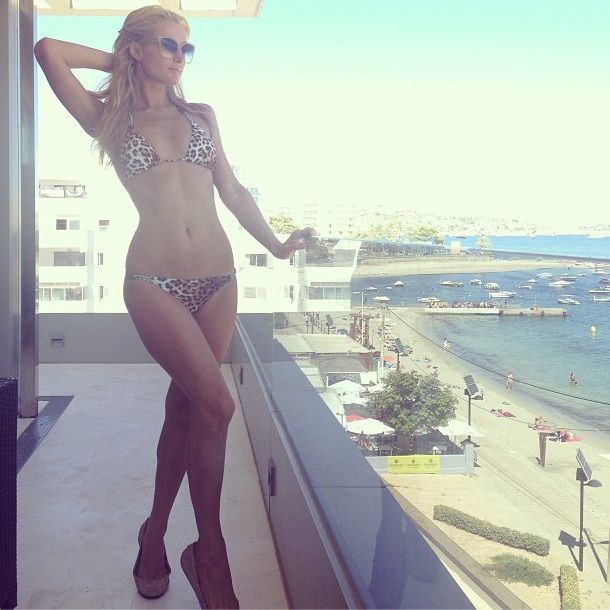 Paris Hilton in our Sofia by ViX bikini
