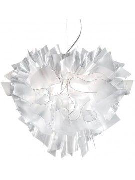 Lamp pendant Slamp Veli Suspension Large Prisma design Adriano Rachele