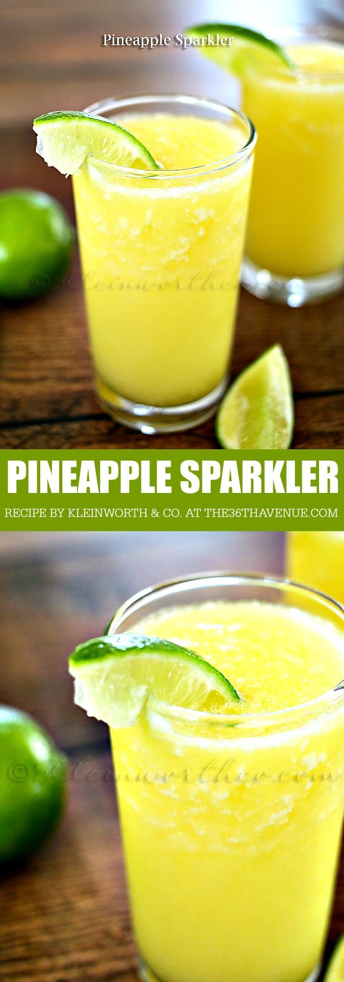 Pineapple Sparkler Recipe - This drink is delicious!
