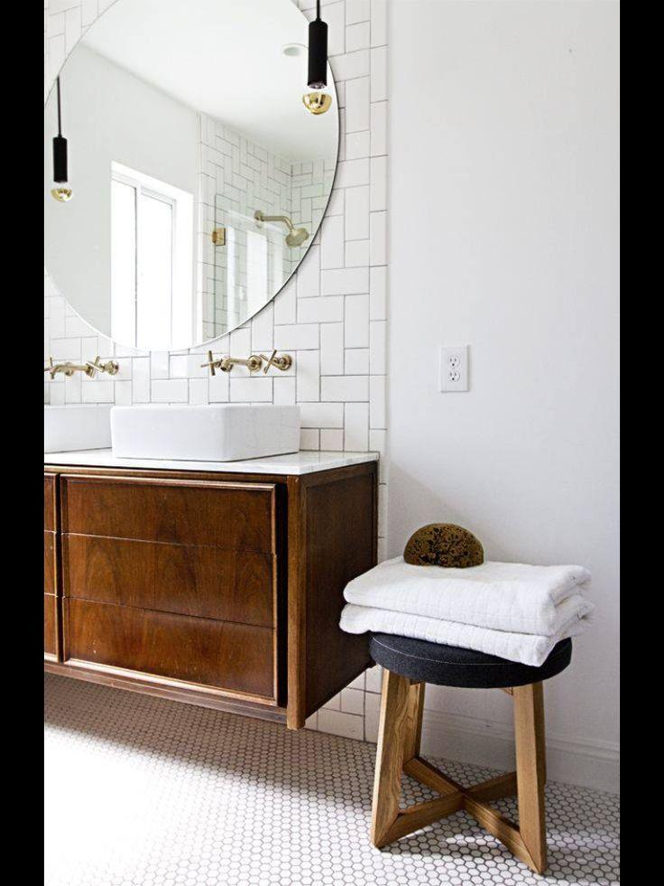 round bathroom mirror bathrooms in 2018 pinterest bathroom rh pinterest com