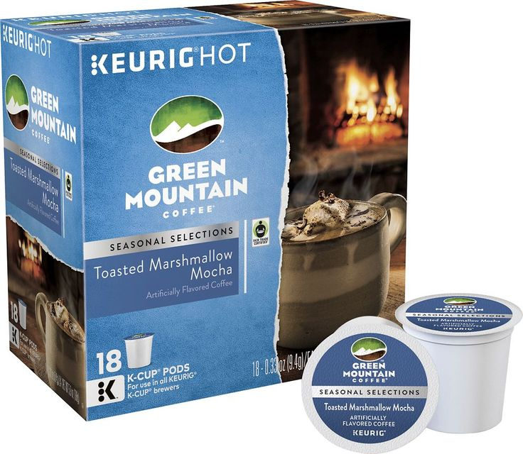 Green Mountain Coffee - Green Mountain Coffee K-Cup Pods (18-Pack)