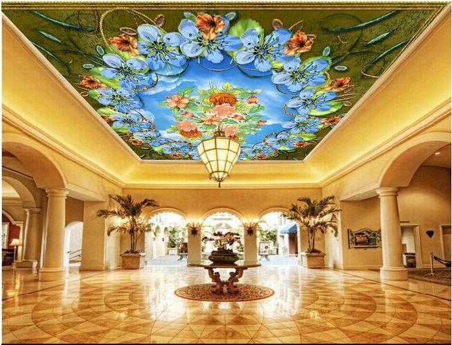 25 beste idee n over behang plafond op pinterest grafische achtergrond plafond kunst en lade - Behang voor restaurant ...