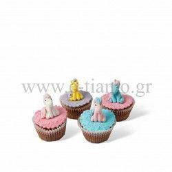 Cupcake Αλογάκι Καρουζέλ