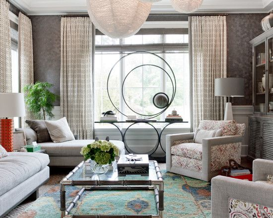Amazing Calico Corners Upholstery Fabric With Glass Coffee