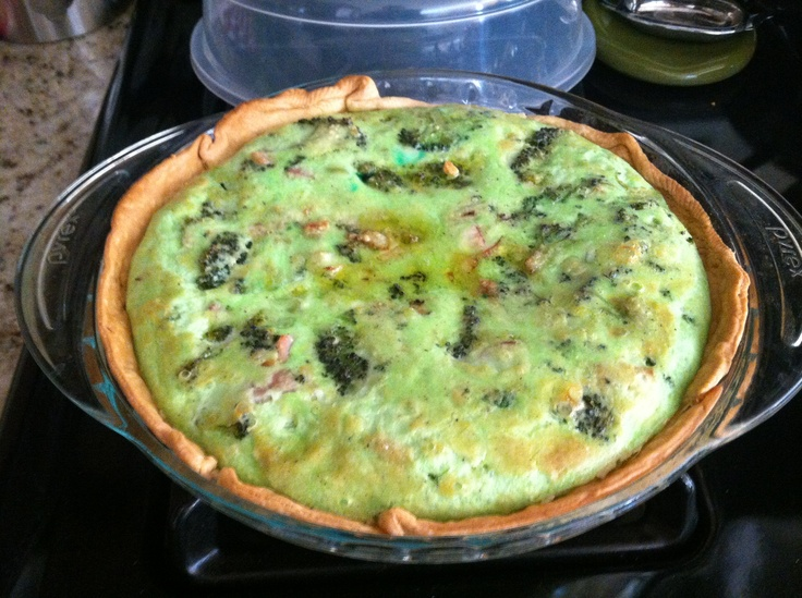 Baked Eggs With Broccoli, Mushrooms & Cheese Recipe — Dishmaps