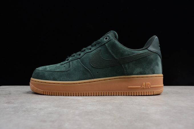 Mens and WMNS Nike Air Force 1 '07 LV8 Suede Outdoor Green ...