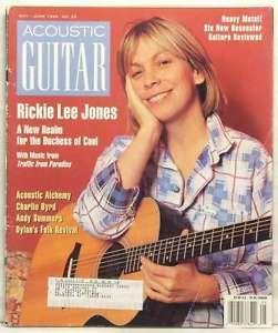 rare photos of rickie lee jones  | ACOUSTIC-GUITAR-MAGAZINE-RICKIE-LEE-JONES-CHARLIE-BYRD-ANDY-SUMMERS ...