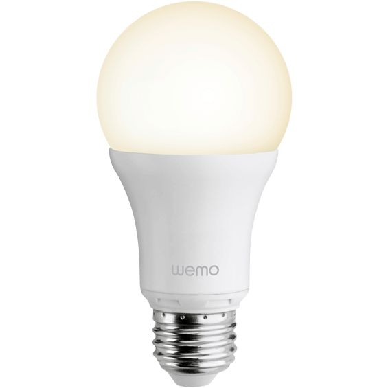 Front view of Belkin Smart LED Bulb