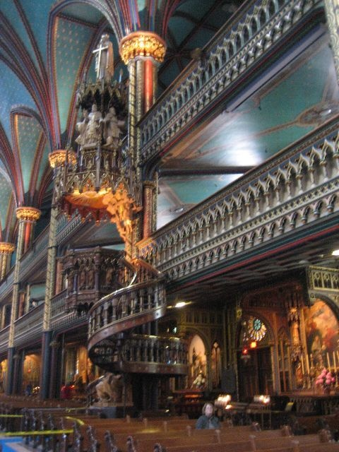 Visit the Notre-Dame Basilica in Montreal, Canada