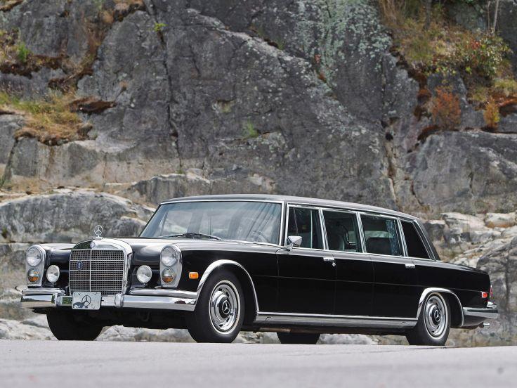 1974 Mercedes Benz 600 4-door Pullman Limousine (W100)