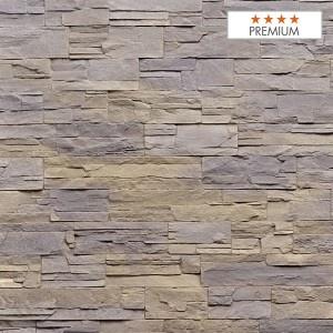 """Wandpaneel Aspen Grey Polyester HD Nomastone - Höhe 1300 mm x Breite 3300 mm - Pack 1 x 1 p - Qualität """"Premium"""""""