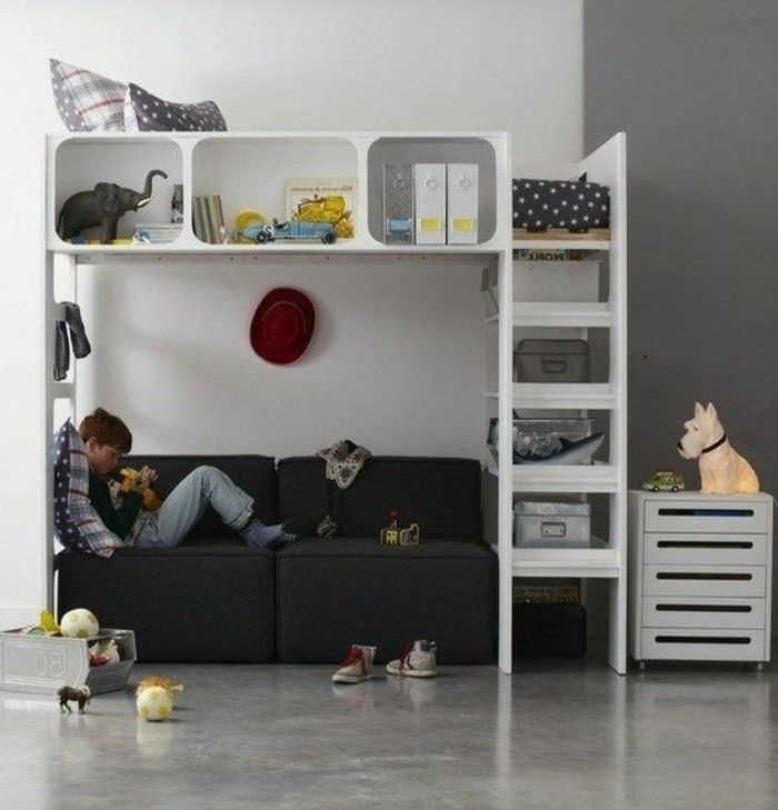 Lit Double Mezzanine Ikea. Stuva Loft Bed With Drawer Doors White ...