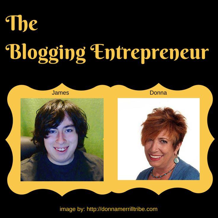 The Blogging Entrepreneur - ♫ Donna Merrill Tribe