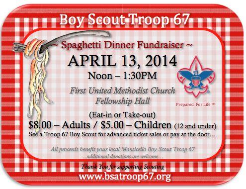 14 best spaghetti dinner fundraiser images on pinterest for Fundraiser dinner tickets template