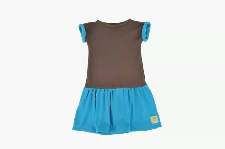 Gorgeous simple organic cotton jersey dress  ,www.imminkkids.com