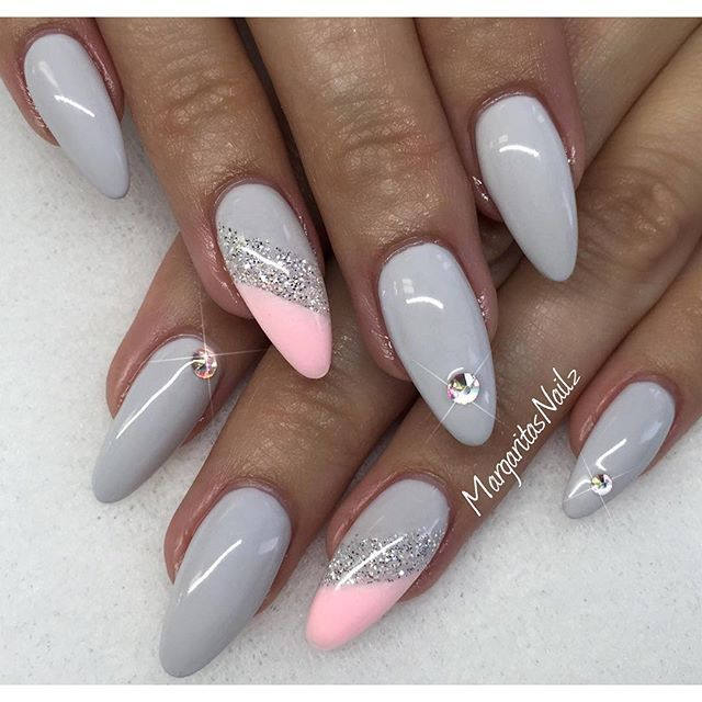 Grey Nails by MargaritasNailz from Nail Art Gallery soft, classy pink - Best 25+ Pink Grey Nails Ideas On Pinterest Classy Nail Designs