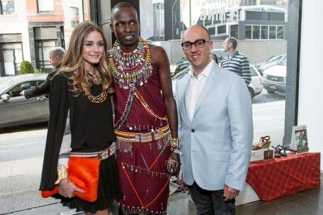 Olivia Palermo inauguró en Nueva York la pop up store de Pikolinos y amadrino el proyecto Masaai con una fiesta en Naciones Unidas.