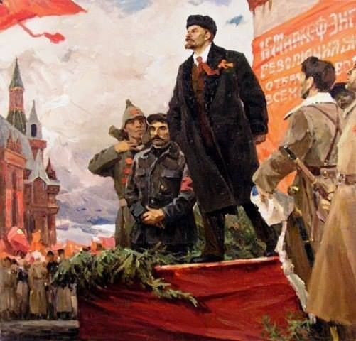 """""""Every revolution is only worth something if it can defend itself.""""  V.I. Ulyanov (Lenin)"""