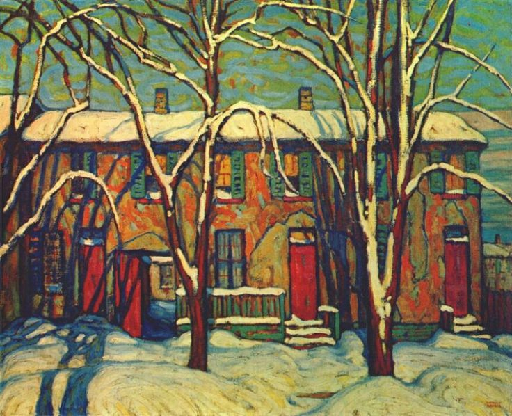 Lawren Harris 1919~ A Side Street