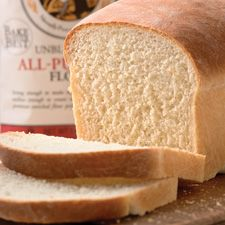 KAF Walter Sands basic white bread recipe, for sandwiches and the Boston Cream Pie French Toast recipe