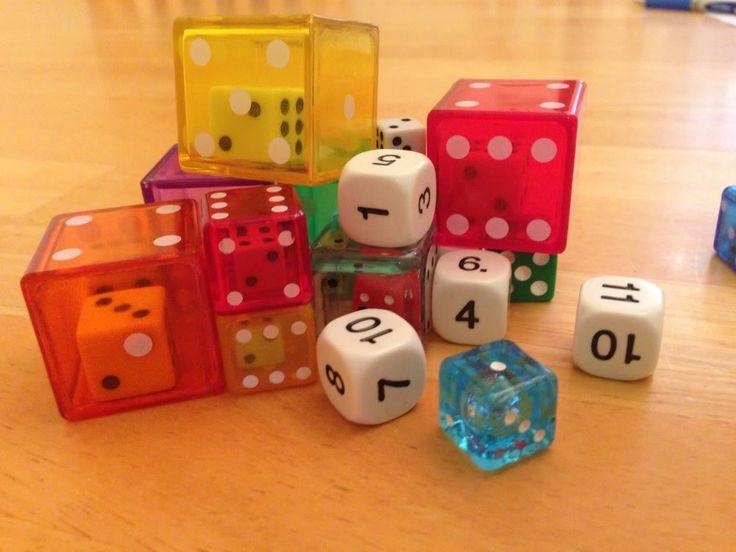 Dice in Language Learning. Utilisant les dés pour des jeux de langues secondes.
