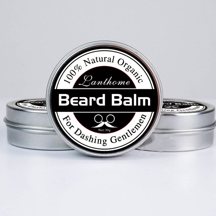 2 bottles best styling Beard tonic and Balm Moustache Wax for styling, Beeswax moisturizing smoothing gentlemen beard care cream