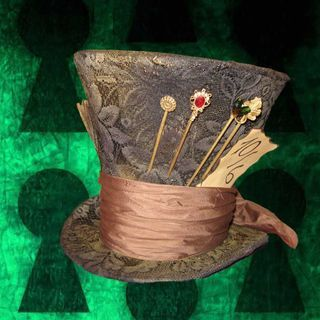 Instructions on How to Make Mad Hatter's Hat