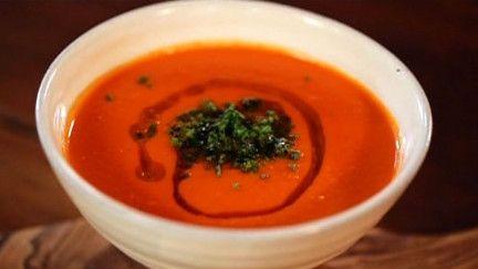 Soupe aux tomates - À la di Stasio