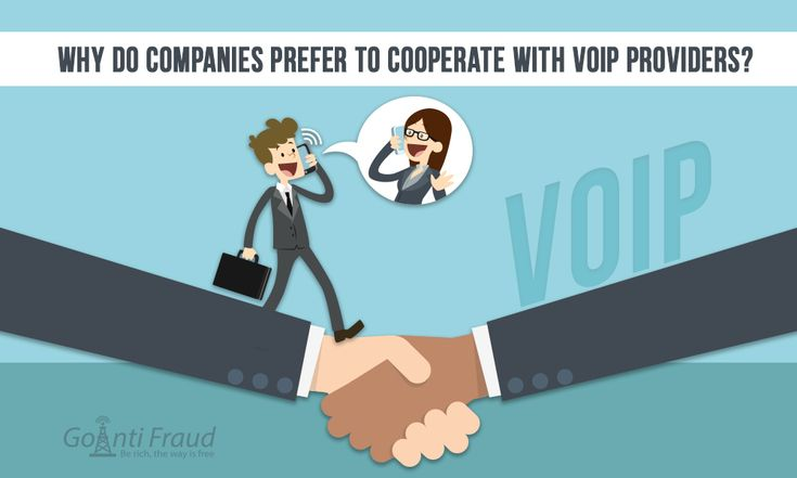 Every manager comes to use the services of VoIP providers, trying to figure out what benefits can be gained by working with such services. Therefore, VoIP providers offer complex packages of services... To continue read the article click here - https://goantifraud.com/en/blog/524-why-do-companies-prefer-to-cooperate-with-voip-providers.html